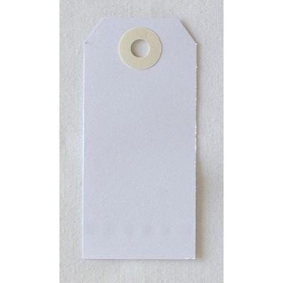 Etiquettes américaines 4x8 cm - Blanc (Lot de 10)