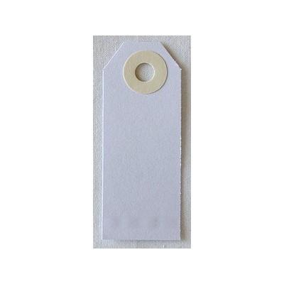 Etiquettes américaines 2.5x6.4 cm - Blanc (Lot de 10)