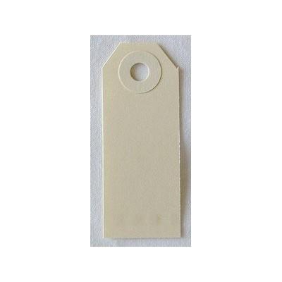 Etiquettes américaines 2.5x6.4 cm - Beige (Lot de 10)