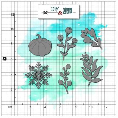 Dies - De saison - Automne - Hiver- DIY and Cie