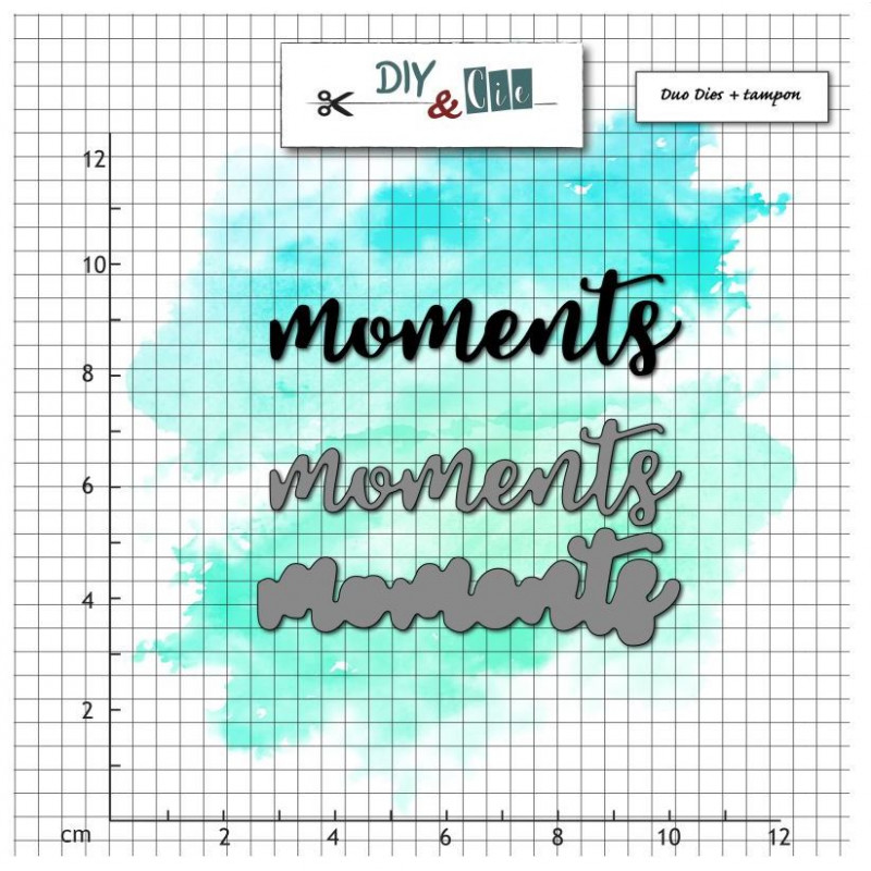 Dies et tampons - Moments - DIY and Cie