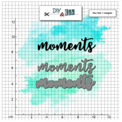 Dies et tampons - Moment - DIY and Cie