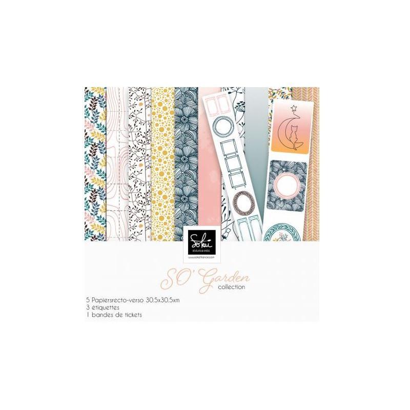 Pack 30x30 - Sokai - Collection SO'Garden