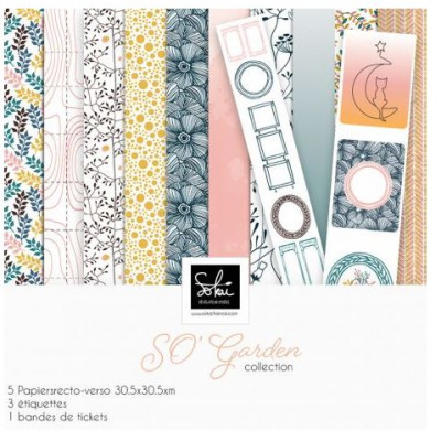 Pack 30x30 - Sokai - Collection SO'Garden