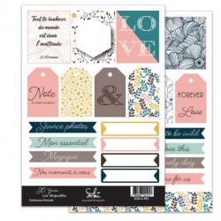 Planches d'étiquettes Sokai - SO'Garden -1