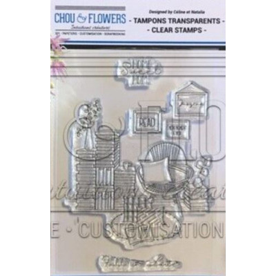 Tampons clear Chou & Flowers - Read
