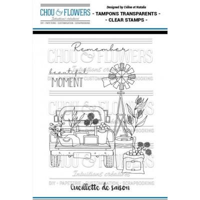 Tampons clear Chou & Flowers - Cueillette de saison