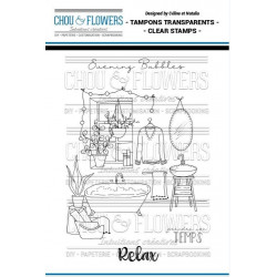 Tampons clear Chou & Flowers - Evening Bubbles