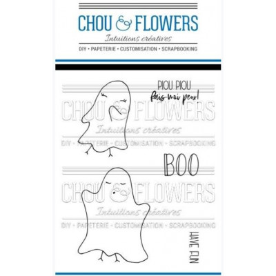 Tampons clear Chou & Flowers - Have Fun