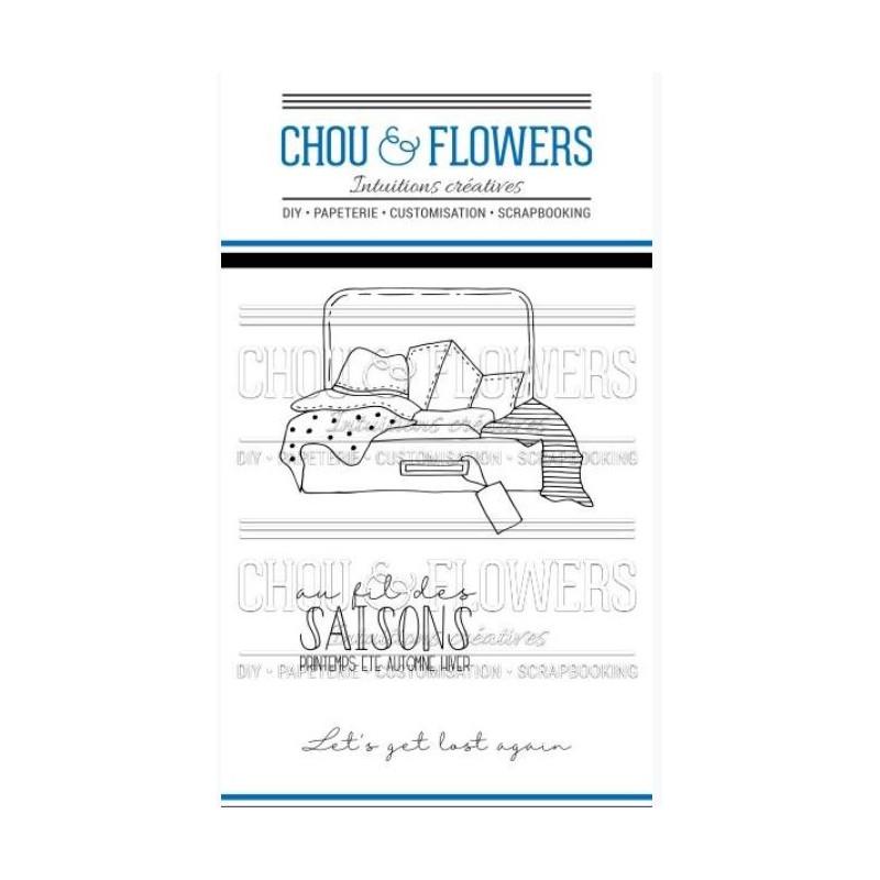 Tampons clear Chou & Flowers - La valise