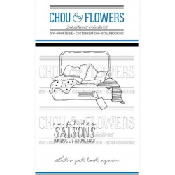 Tampons clear Chou & Flowers - La valise