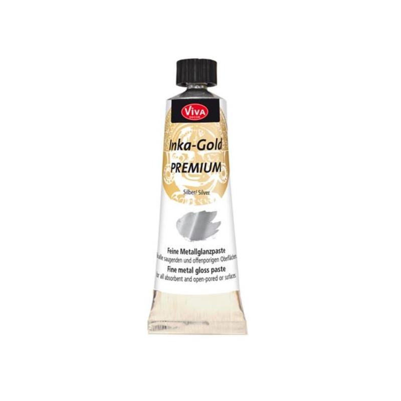 Inka-Gold Premium - Pâte - Argent