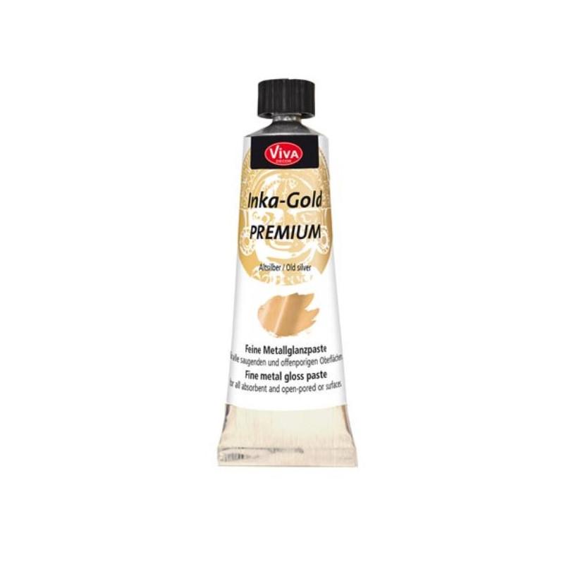 Inka-Gold Premium - Pâte - Argent Antique