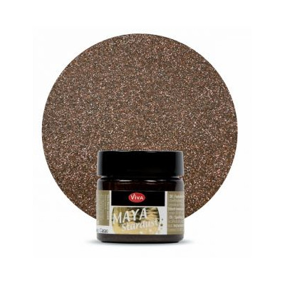 Peinture - Maya Stardust - Cacao