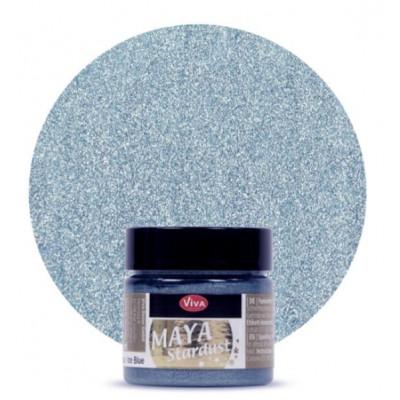 Peinture - Maya Stardust - Bleu glace
