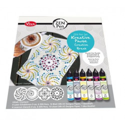 Set de Zen pen - Viva - Pause créative