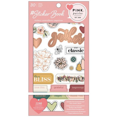 Pack de stickers - Pink Paislee