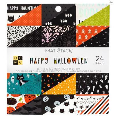 Pack papiers 15.2 x 15.2 - Happy Halloween