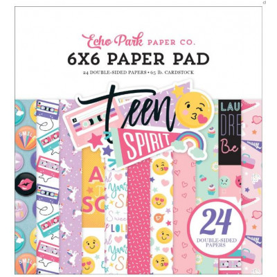 Pack de papiers 15.2 x 15.2 - Teen Spirit