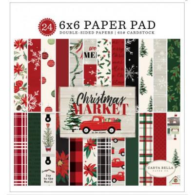 Pack papier - Carta Bella - 15x15cm - Christmas Market