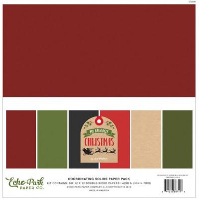 Pack Papier Echo Park - 30.5 x 30.5 - My favorite Christmas