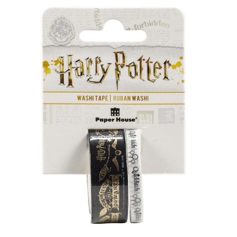 Washi tape - Paper House - Harry Potter - Quidditch