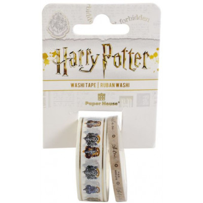 Washi tape - Paper House - Harry Potter - House Crests