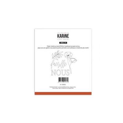Pochoir Les Ateliers de Karine - Esprit Bohème - Bonheur