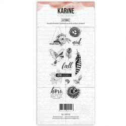Tampons clear Les Ateliers de Karine - Automne