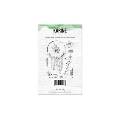 Tampons clear Les Ateliers de Karine - Esprit Bohème - Cercle bucolique