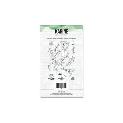 Tampons clear Les Ateliers de Karine - Eucalyptus