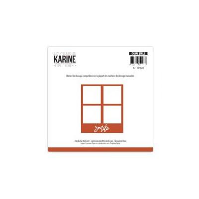 Dies Les Ateliers de Karine - Esprit Bohème - Cadre Smile