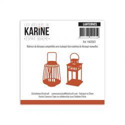 Dies Les Ateliers de Karine - Esprit Bohème - Lanternes