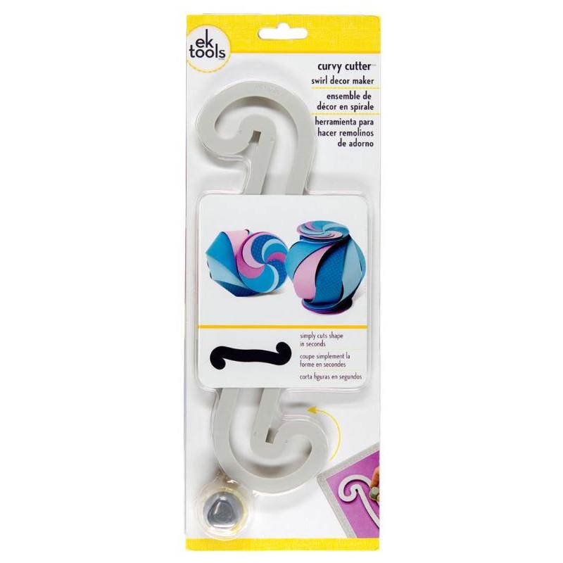 Ek Tools - Curvy Cutter Swirl