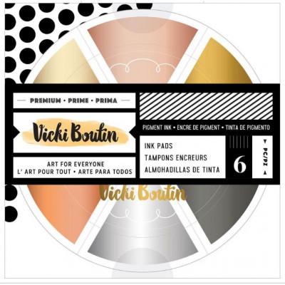 Metallics -Vicki Boutin - Wheel Inkpad - Encrier