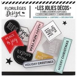 Les Jolies Décos Florilèges - Holiday Greetings