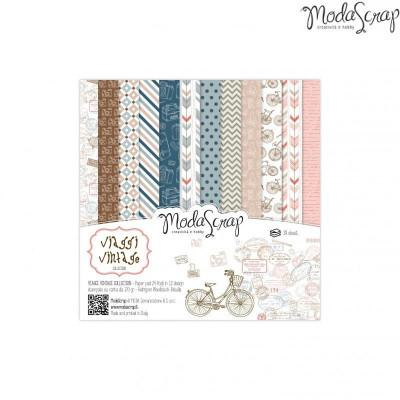 ModaScrap - Paper Pack 15.2x15.2 - Vintage
