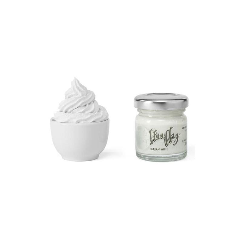 ModaScrap - Fluffy - Brilliant White