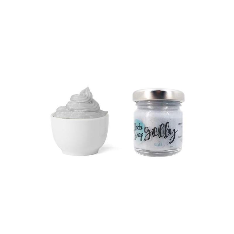 ModaScrap - Fluffy - Gelly Silver