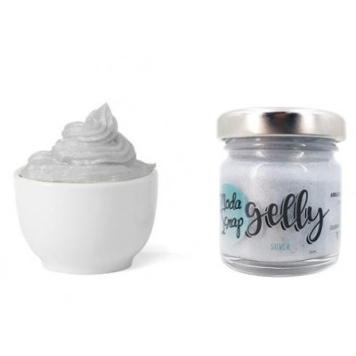 ModaScrap - Fluffy - Gelly Silver