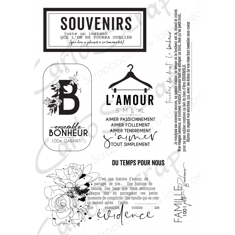 Tampons CartoScrap - Comme une évidence