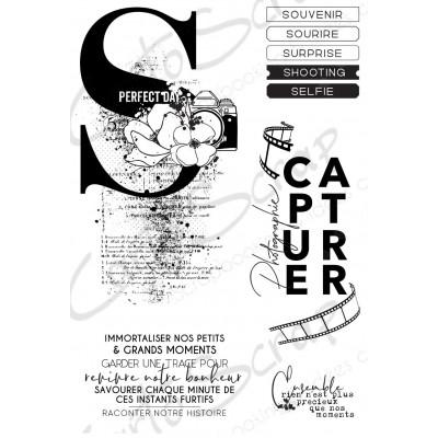 Tampons CartoScrap - Revivre notre bonheur