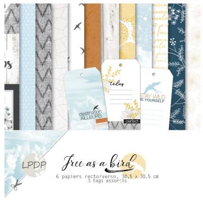 Pack 30x30 - Les papiers de Pandore - Free as a bird