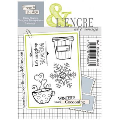 Tampons transparents L'Encre et l'image - Cocooning