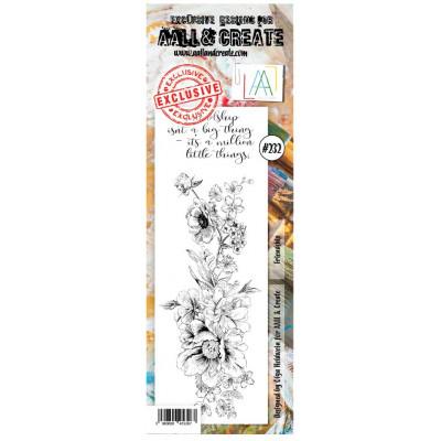 AALL & Create Stamp -232- Amitié toute en fleur