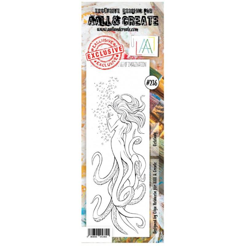 AALL & Create Stamp -236 - Mystérieuse sirène