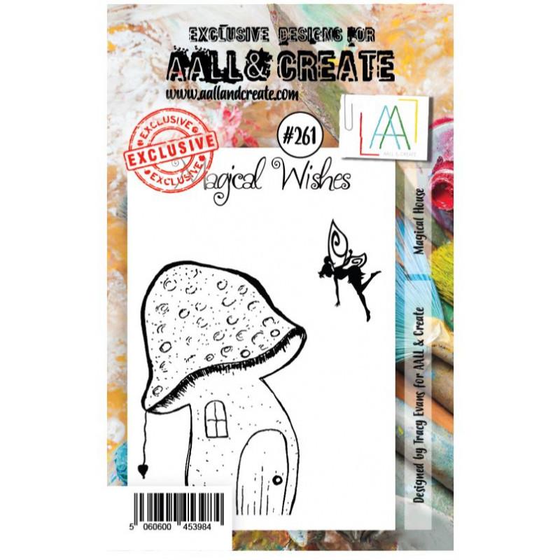 AALL & Create Stamp -261 - Maison Champignon