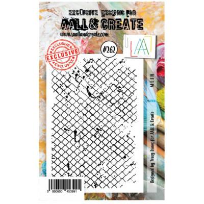 AALL & Create Stamp -262 - Fond ruche