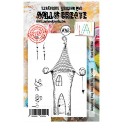 AALL & Create Stamp -263 - Maison Amour