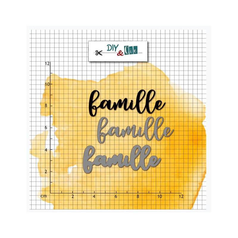 Die & Tampon - DIY and Cie - En Route - Famille